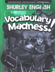 Shurley English Vocabulary Madness! Level 3