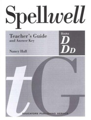 Spellwell D & DD Teacher's Guide and Answer Key
