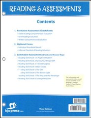 Reading 3 Assessments & Key (3rd Edition)