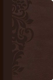 Imitation Leather Brown Book Thumb Index