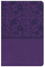 Imitation Leather Purple Book Red Letter