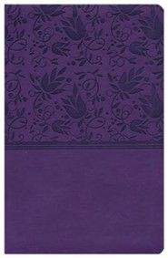 Imitation Leather Purple Book Red Letter Thumb Index