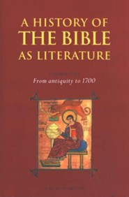 A History of The Bible as Literature