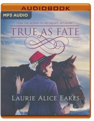 True As Fate - unabridged audio book on MP3-CD