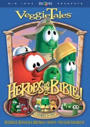 Heroes of the Bible: Shadrach, Meshach, & Abednego, Joshua, and  the Good Samaritan, VeggieTales DVD