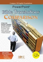 Bible Translations Comparison PowerPoint Presentation