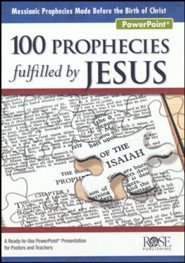 100 Prophecies Fulfilled by Jesus PowerPoint® CD-ROM