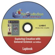 Apologia Exploring Creation with General Science 1st Edition Lapbook Journal PDF CD-ROM