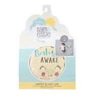Wrapped in God's Love Swaddle Blanket and Door Hanger