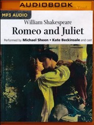 Romeo and Juliet - unabridged audio book on MP3-CD