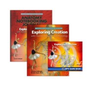 Exploring Creation with Human Anatomy and Physiology Super Set (with Notebooking Journal)