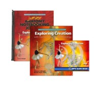 Exploring Creation with Human Anatomy and Physiology Super Set (with Junior Notebooking Journal)