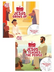 Jesus Grows Up/Jesus Teaches the People Flip-Over Book