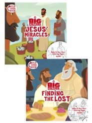 Jesus' Miracles/Finding the Lost Flip-Over Book