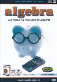 Light Speed Algebra: The Powers and Functions DVD
