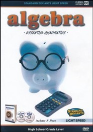Light Speed Algebra: Essential Quadratics DVD