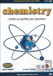 Light Speed Chemistry Module 2: States of Matter and Solutions DVD