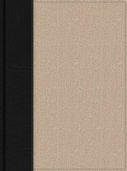 HCSB Apologetics Study Bible for Students, Black and Tan Cloth, Thumb-Indexed