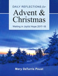 Waiting in Joyful Hope: Daily Reflections for Advent and Christmas 2017-18 - large print edition