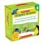 Guided Science Readers Parent Pack: Level C: 16 Fun Nonfiction Books That Are Just Right for New Readers