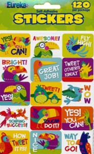 You-Can Toucan Stickers (Pack of 120)