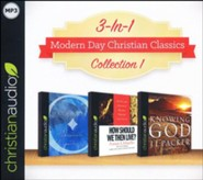 Modern Day Christian Classics Collection 1 on MP3-CD (Knowing God, Orthodoxy, and How Then Should We Live)