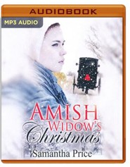 Amish Widows Christmas - unabridged audio book on MP3-CD