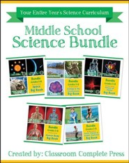 Middle School Science Bundle, Grades 5-8