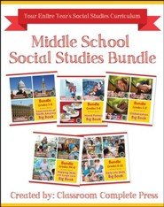 Middle School Social Studies Bundle, Grades 5-8