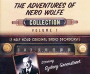 The Adventures of Nero Wolfe Collection, Volume 1 - 12 Half-Hour Original Radio Broadcasts on CD