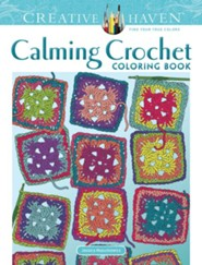 Calming Crochet Coloring Book