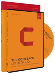 The Comeback: It's Not Too Late and You're Never Too Far, Study Guide and DVD Pack