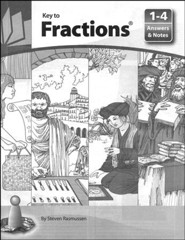 Key to Fractions Answers and Notes for Books 1-4