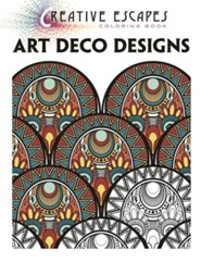 Creative Adult Coloring: Art Deco Designs