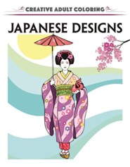 Creative Adult Coloring: Japanese Designs  -     By: Racehorse