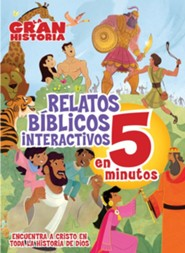 La Gran Historia: Relatos Bíblicos Interativos en 5 Minutos  (The Big Picture Interactive Bible Stories in 5 Minutes)