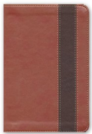 Imitation Leather Brown Large Print Book Red Letter two-tone Spanish