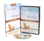 Too Busy Not to Pray Study Pack, DVD & Participant Guide