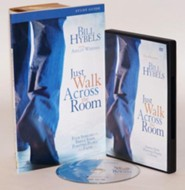 Just Walk Across the Room Participant's Guide with DVD: Four Sessions on Simple Steps Pointing People to Faith