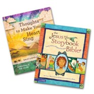 The Jesus Storybook Bible and Thoughts to Make Your Heart Sing Set