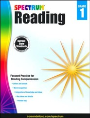 Spectrum Reading Grade 1 (2014 Update)