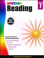 Spectrum Reading Grade 7 (2014 Update)