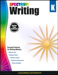 Spectrum Writing Grade K (2014 Update)
