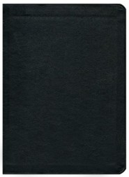 Genuine Leather Black Book Red Letter