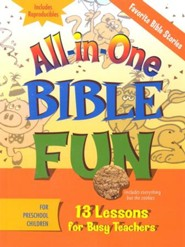 All-in-One Bible Fun: Favorite Bible Stories, Preschool Edition