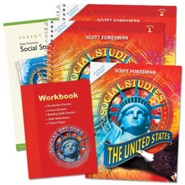 Scott Foresman Social Studies Grade 5 Homeschool Bundle   -