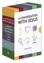 A Conversation with Jesus: Short Books for Non-Christians and New Believers, 6 Volume Boxed Set