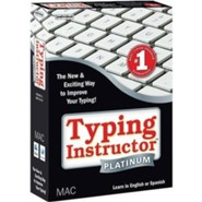 Typing Instructor Platinum CD-Rom for Macintosh