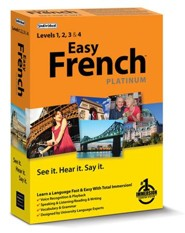 Easy French Platinum on CD-ROM