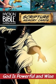 NIV Action Bible Scripture Memory Cards Q1